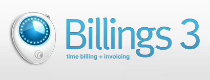 Billings 3 Giveaway: Time Billing and Invoicing Software