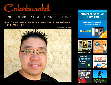 A Chat With Twitter Master & Designer Calvin Lee